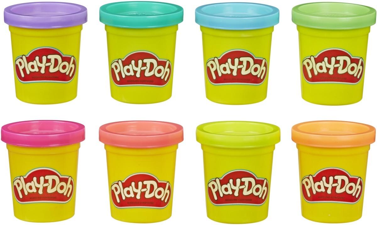 Масса для лепки Play-Doh Doh & More, E5044EU4, 8 цветов #1