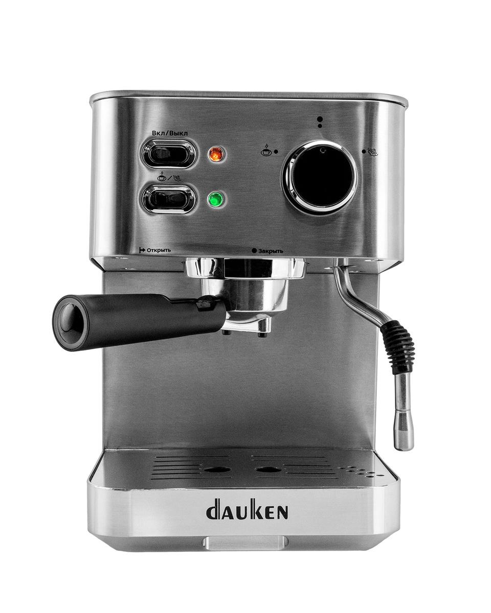 Кофеварка рожковая Dauken hc115, серебристый #1