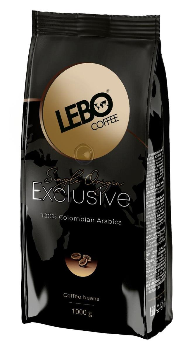 Кофе в зернах Lebo Exclusive Арабика, 1000г #1