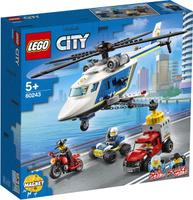 Конструктор LEGO City Police 60243 Погоня на полицейском вертолёте. Наши лучшие предложения