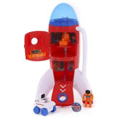 Космическая ракета Подарочная серия Космос наш, 42 см (свет, звук, диалог космонавтов). Летим в школу