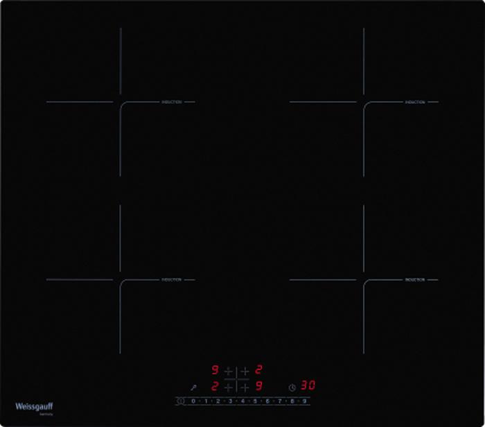 Варочная поверхность Weissgauff HI 640 BSC, 423433, черный