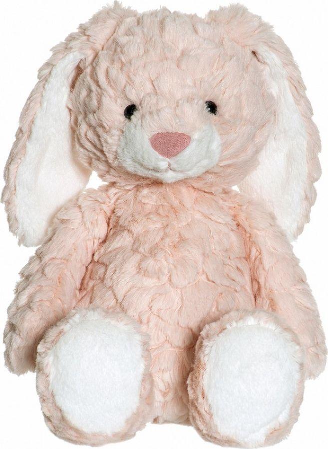 Мягкая игрушка Teddykompaniet Кролик Салли, розовый, 23 см