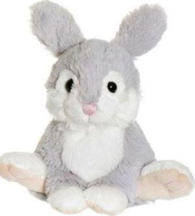 Мягкая игрушка Teddykompaniet Заяц, серый, 17 см