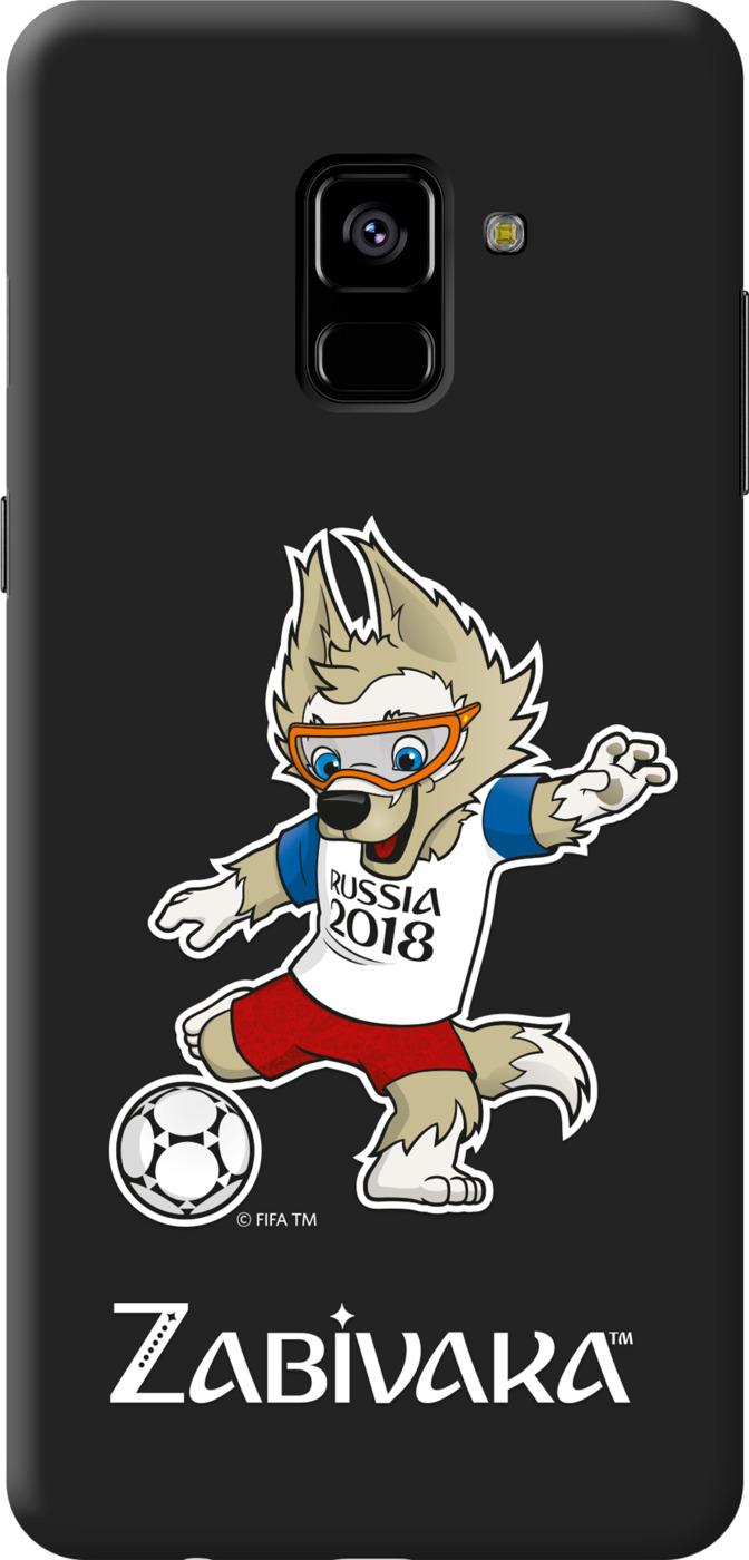 Чехол TPU для Samsung Galaxy A8, FIFA Zabivaka 2, Deppa все цены