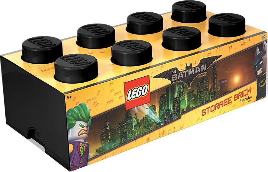 Ящик для хранения 8 LEGO BATMAN черный
