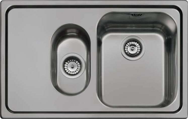 Кухонная мойка Smeg SP7915SN крыло слева