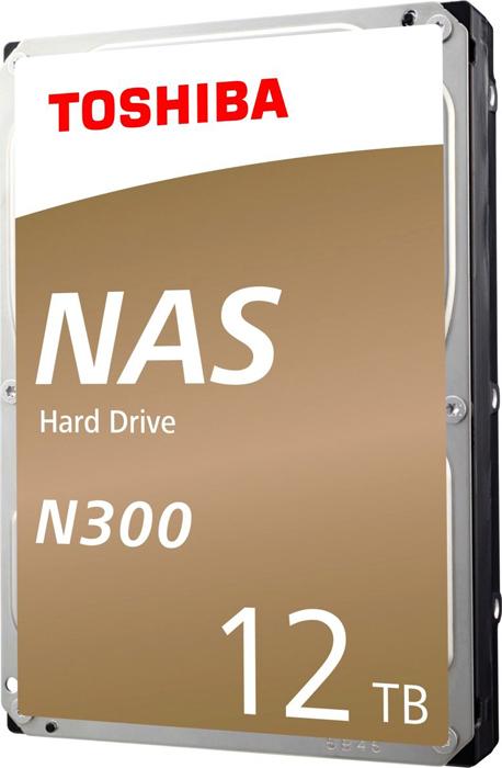 Жесткий диск 12Tb SATA-III Toshiba N300 NAS, HDWG21CEZSTA жесткий диск toshiba sata iii 10tb hdwg11auzsva nas n300 7200rpm 256mb 3 5 bulk