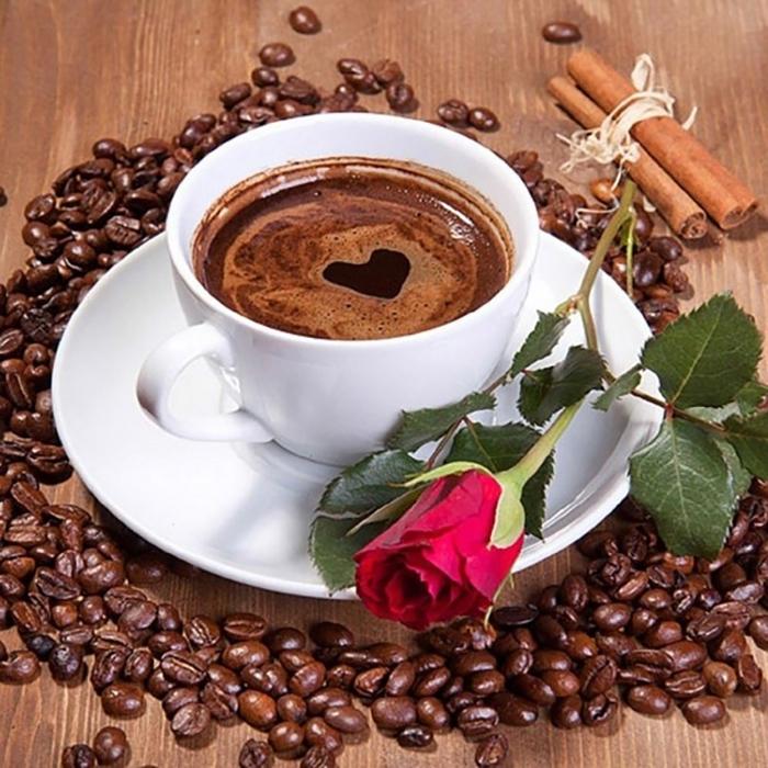 Открытки с кофе фото