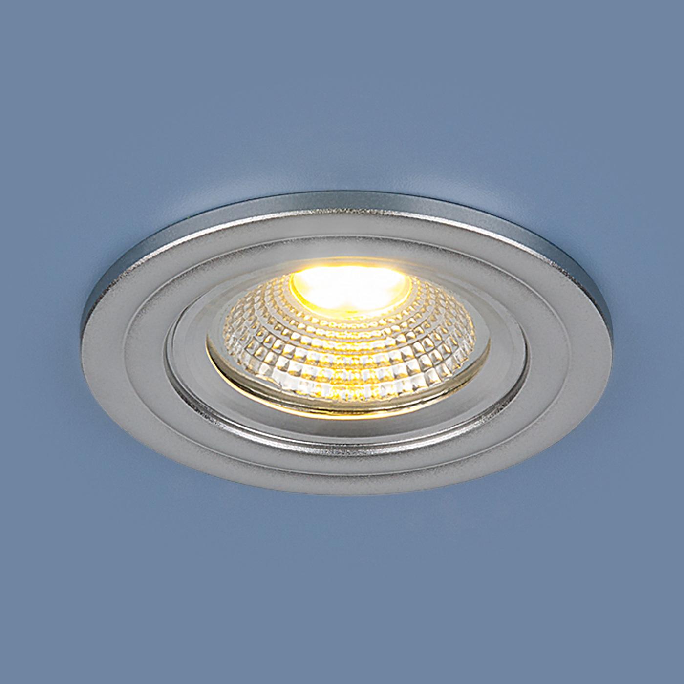 Встраиваемый светильник Elektrostandard потолочный LED 9902 LED 3W COB SL jrled 3w 300lm 6500k 21 cob led white light modules white beige 5 pcs dc 10 11v