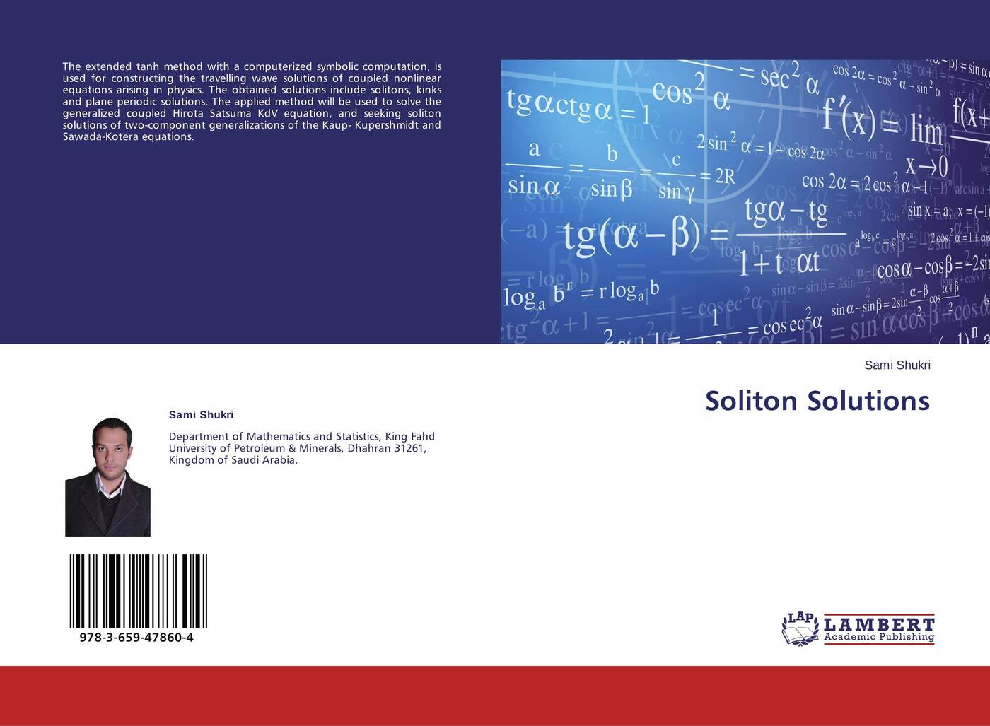 Sami Shukri Soliton Solutions keshra sangwal nucleation and crystal growth metastability of solutions and melts