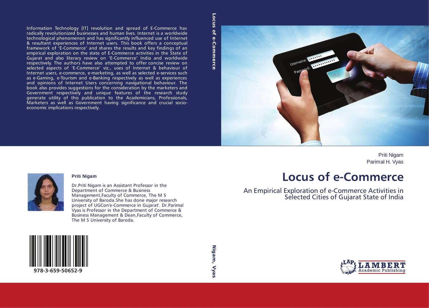 Priti Nigam and Parimal H. Vyas Locus of e-Commerce a generic architecture for e government and e democracy