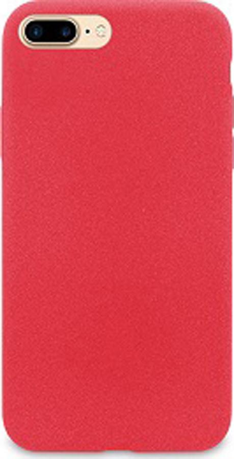 Чехол-накладка DYP Liquid Pebble для Apple iPhone 7/8 Plus, красный