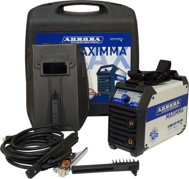 Сварочный инвертор Aurora MAXIMMA 2000 с аксессуарами в кейсе (6.5 кВт)