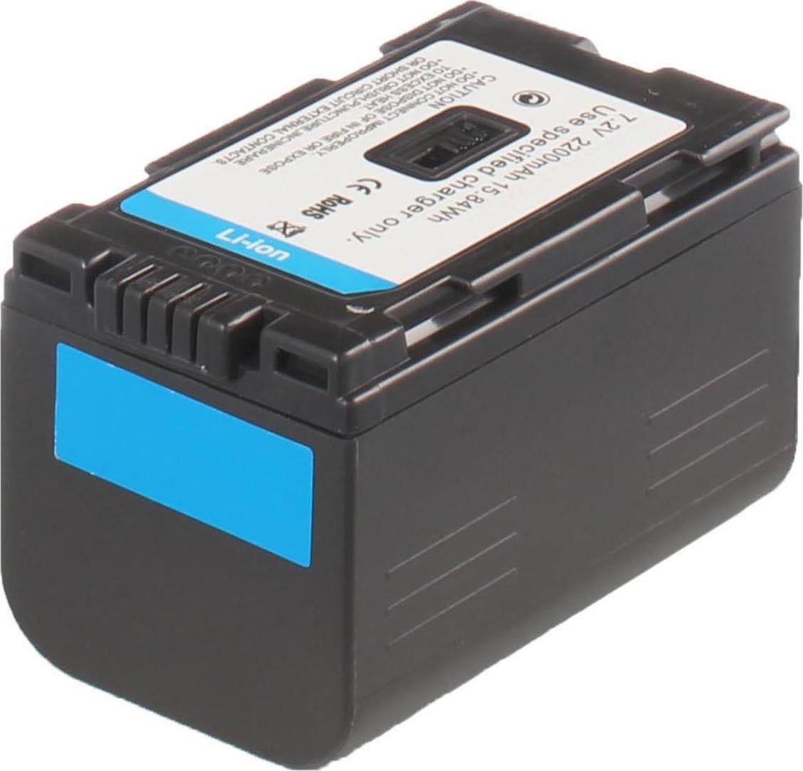 Аккумуляторная батарея iBatt iB-T2-F315 2200mAh для камер Panasonic NV-DS15, NV-DS50, AG-DVC30, AG-DVX100B, NV-GS3, AG-DVC60E, AG-DVC80, AG-DVX100AE, NV-DS38, NV-DS25, NV-MX5000, PV-GS9, NV-C7, NV-DB1, NV-DS150, NV-DS15EN, NV-DS25EN, NV-DS29EG,