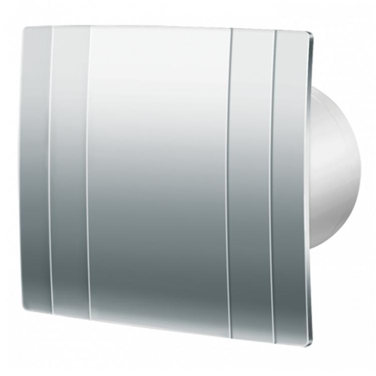 Вытяжка для ванной диаметр 100 мм Blauberg Quatro Hi-Tech Chrome 100 Особенности и преимущества: Настенный или потолочный монтаж Бесшумная...