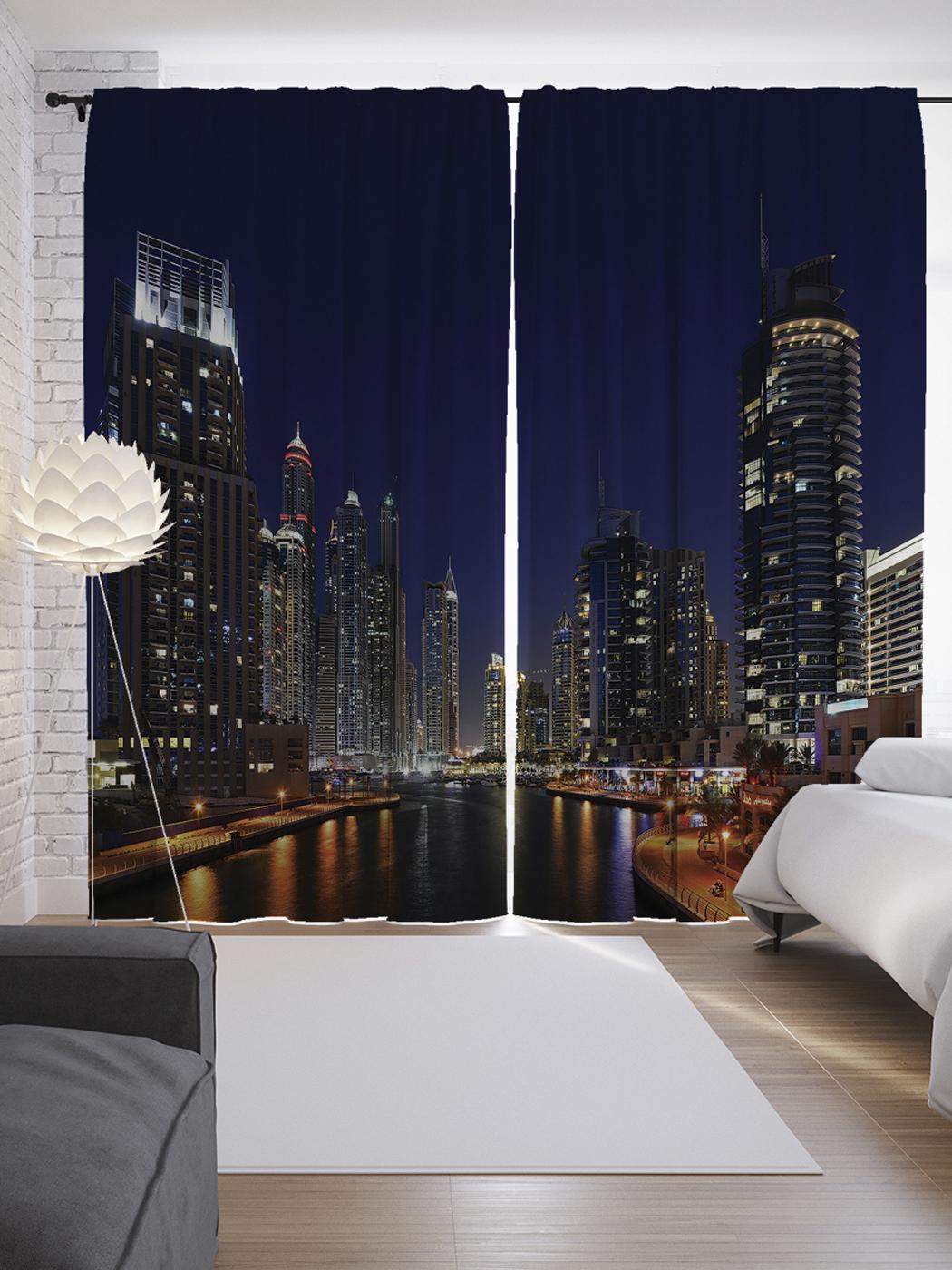 индивидуальный жалюзи ночной город в спальню фото воздух