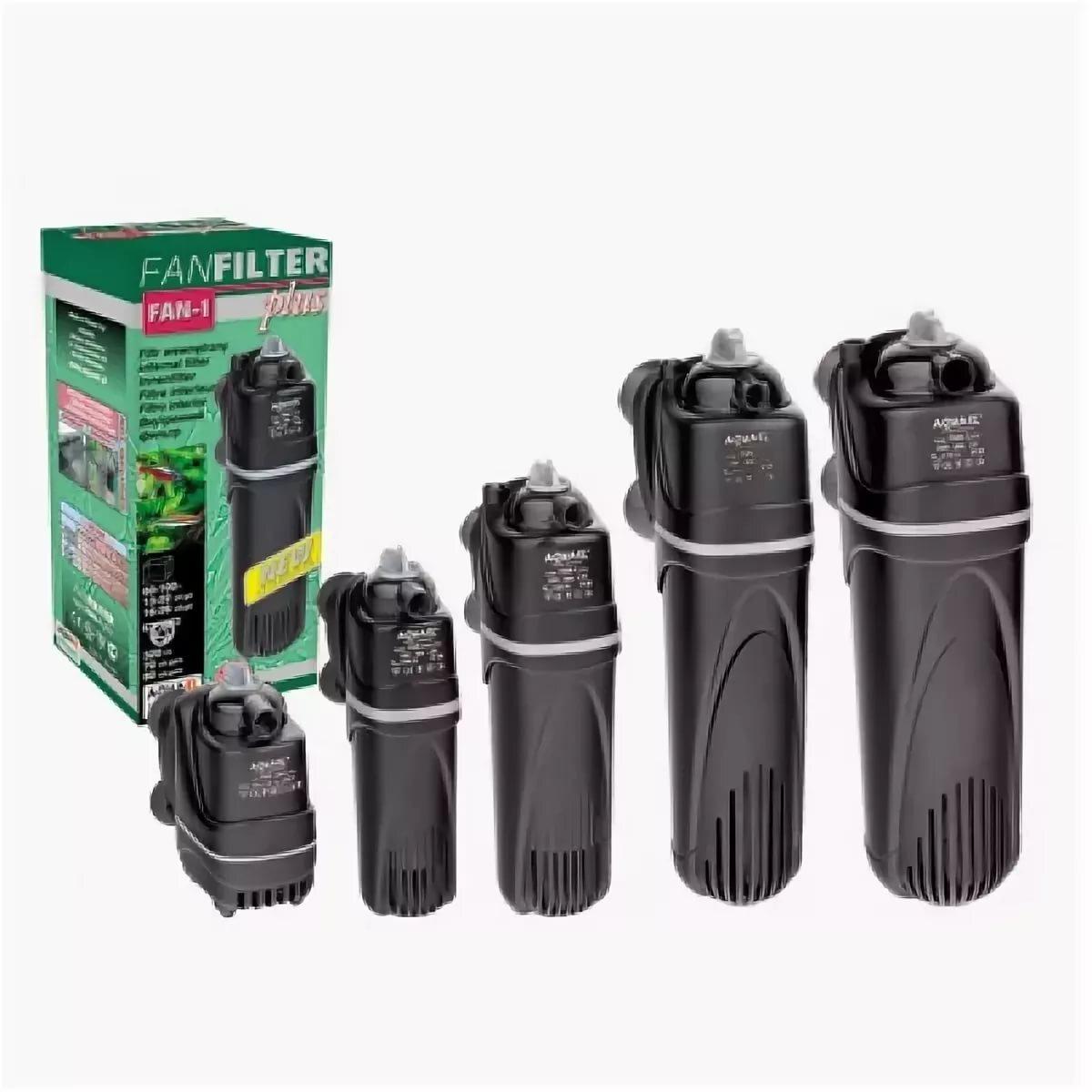 Помпа фильтр AQUAEL FAN-Micro PLUS (3л-30л) 250л/ч, 4 W, 0,3 кг