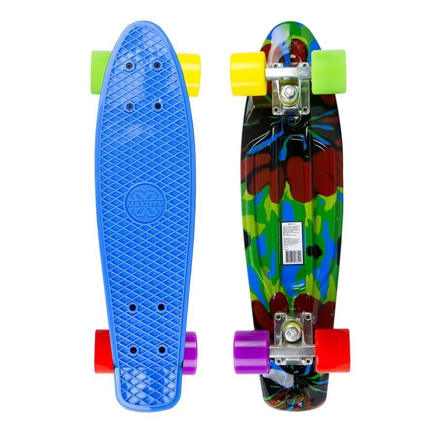 Скейтборд MC Plastic Board SMASH small