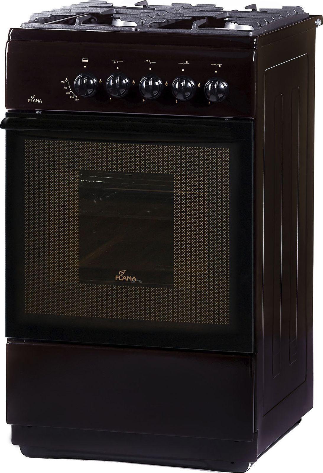 Кухонная плита Flama FG 24028 B, коричневый