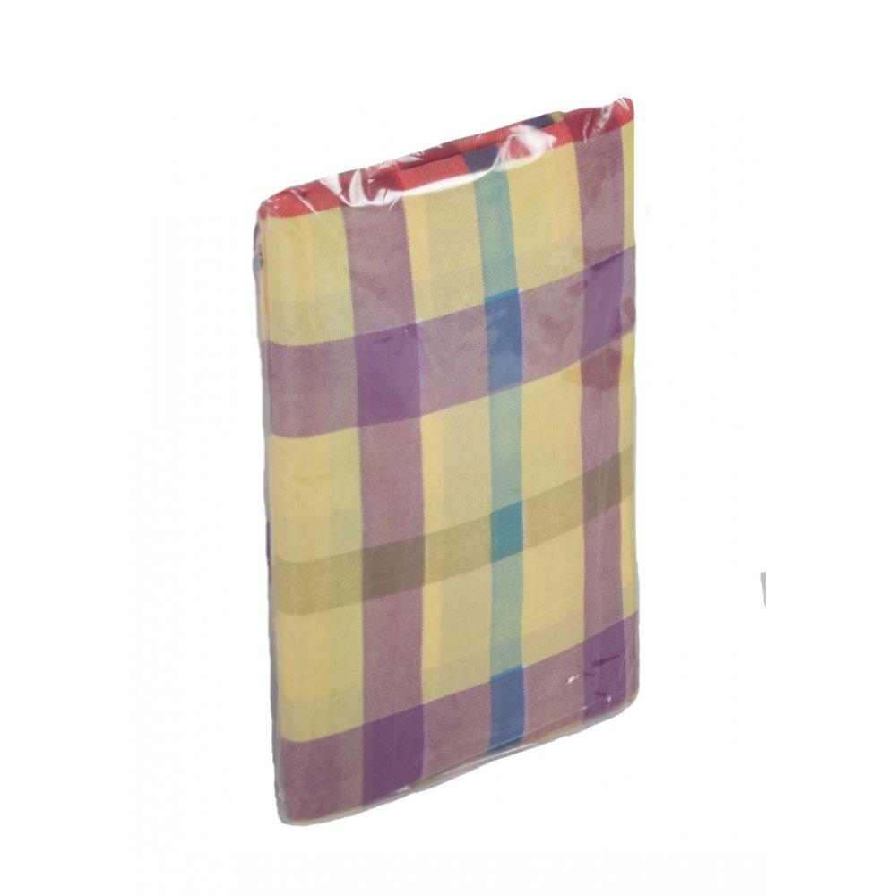 Комплект постельного белья 1,5 сп. микрофибра 65 гр. (1 нав. 60х60), цветной,