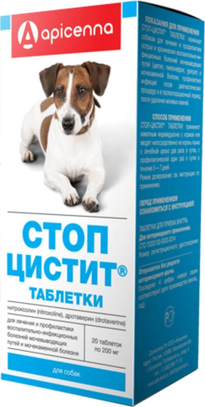 Цистит у собак диета