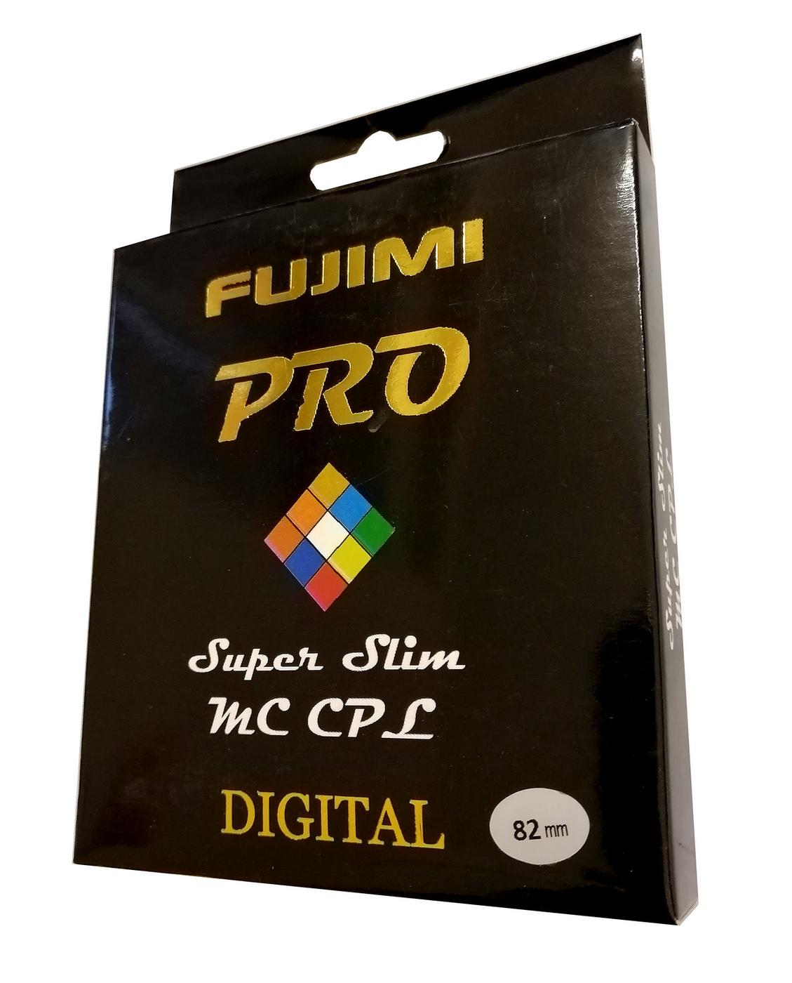 Светофильтр Fujimi PRO Super slim MC CPL 82mm