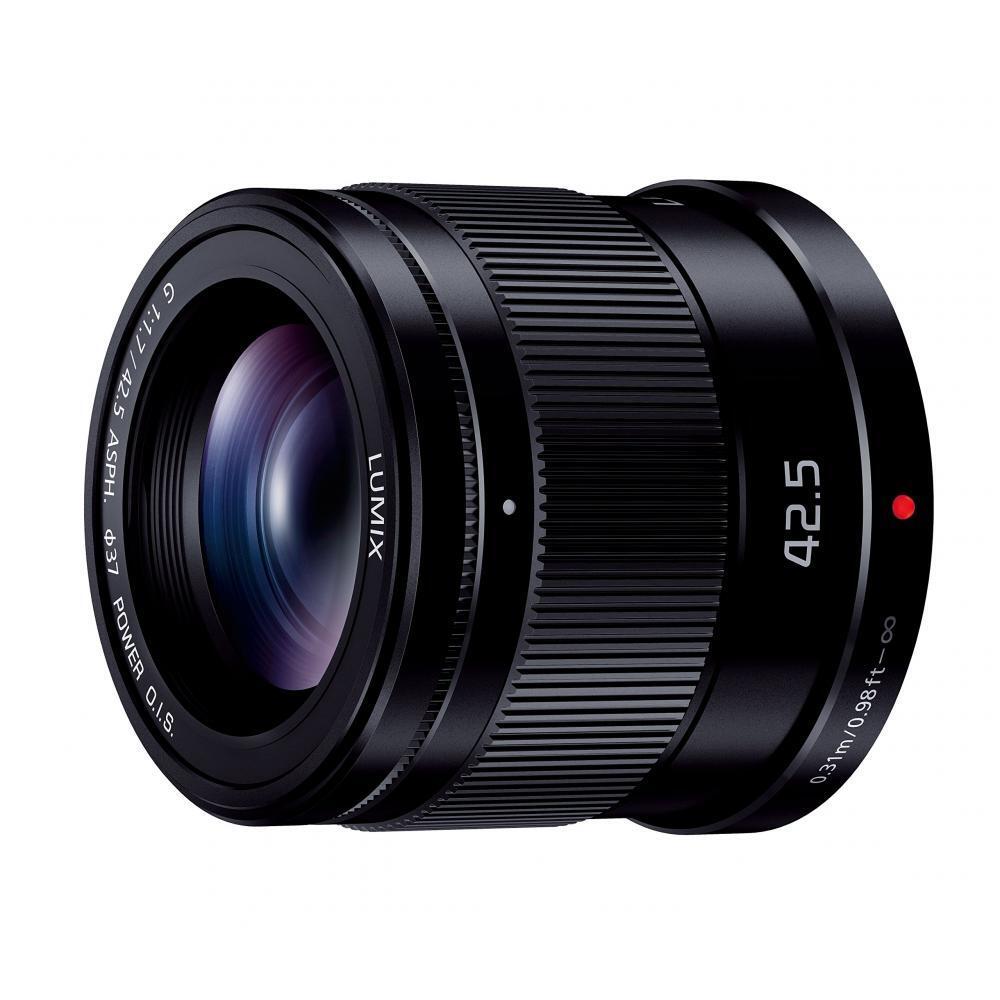 LUMIX Panasonic monofocal in a telephoto lens Micro Four Thirds G 42.5mm / F1.7 ASPH. / POWER O.I.S