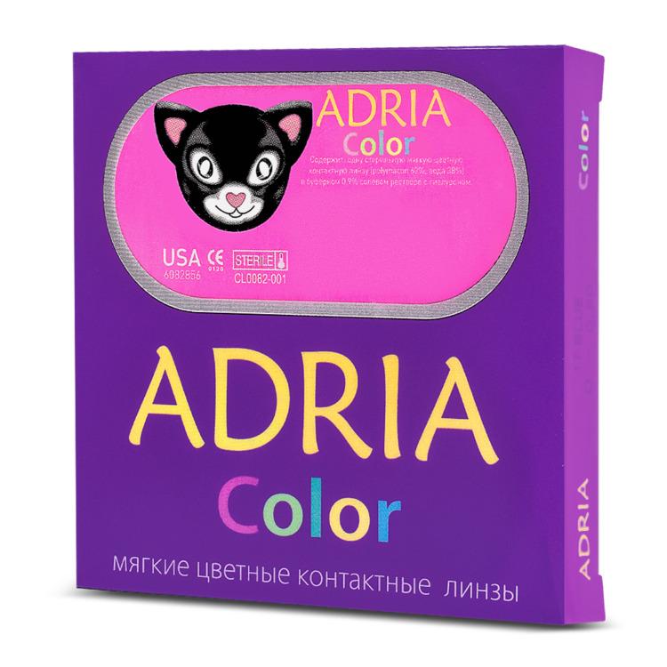 Цветные контактные линзы Adria Color-3-Tone 3 месяца, -2.00 / 14.2 / 8.6, лазурный