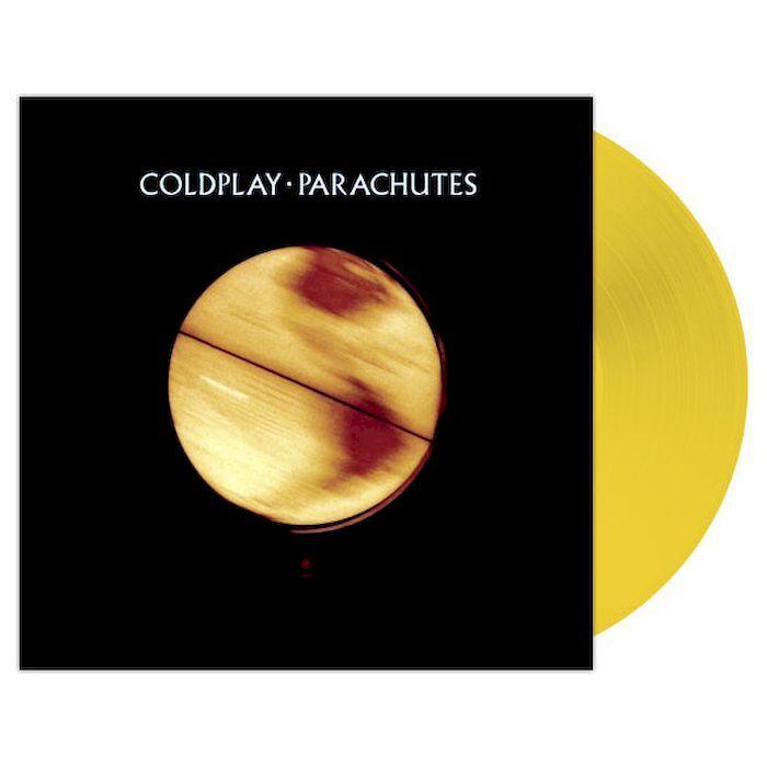 Виниловая пластинка Coldplay. Parachutes (20th anniversary) Transparent yellow (LP)