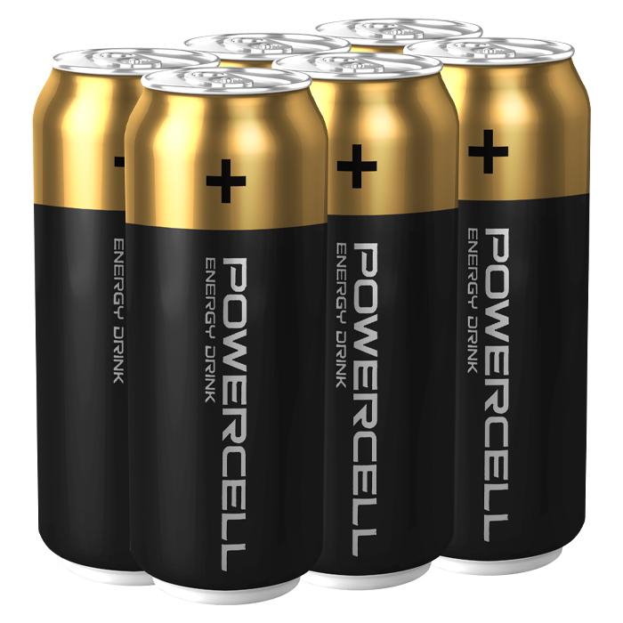 Энергетический напиток Powercell Monster Energy Drink Original, 450 мл (6 шт)