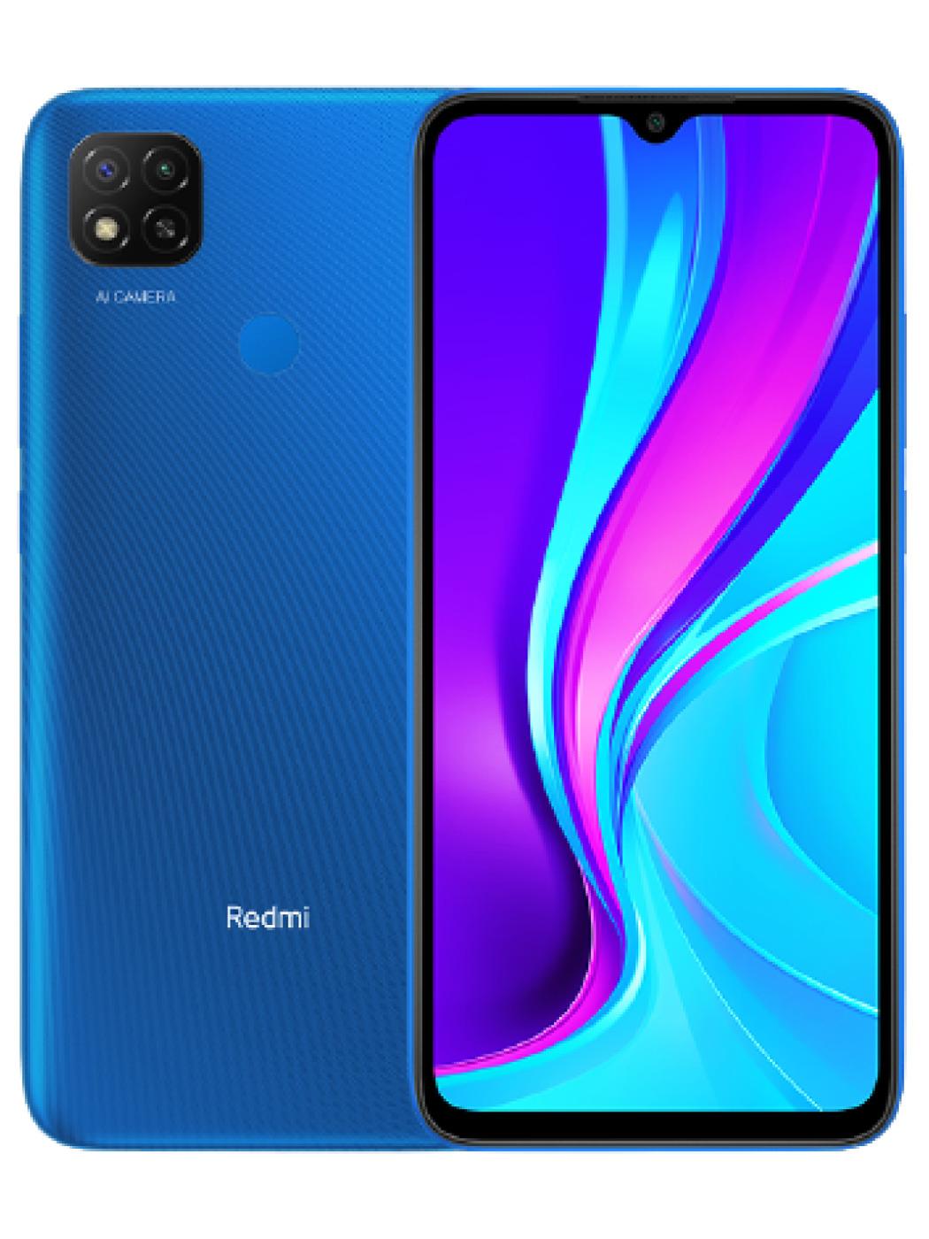 смартфон xiaomi redmi 9c  3/64gb, черный m2006c3mng