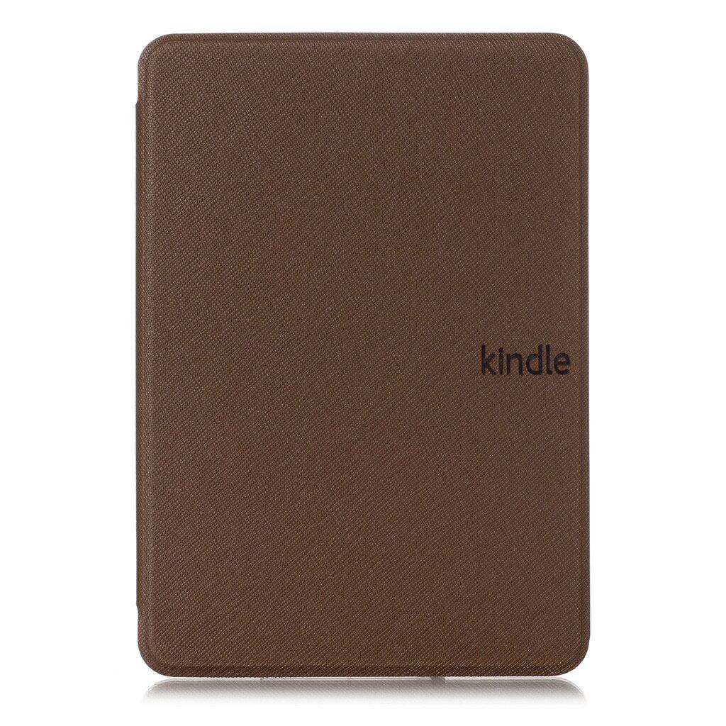 обложка для amazon kindle paperwhite 2018, коричневая