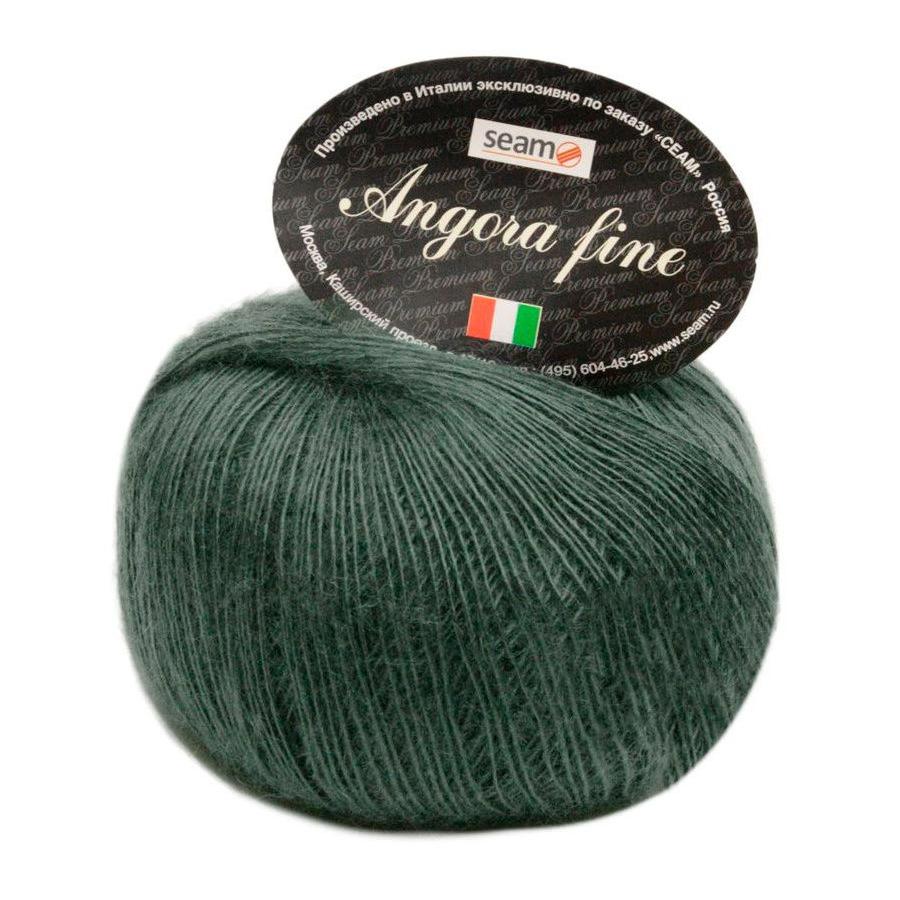 Пряжа для вязания Seam Angora Fine color: 195212, состав: 50% Мохер, 50% Нейлон, 50 гр/300м, 2 мотка.