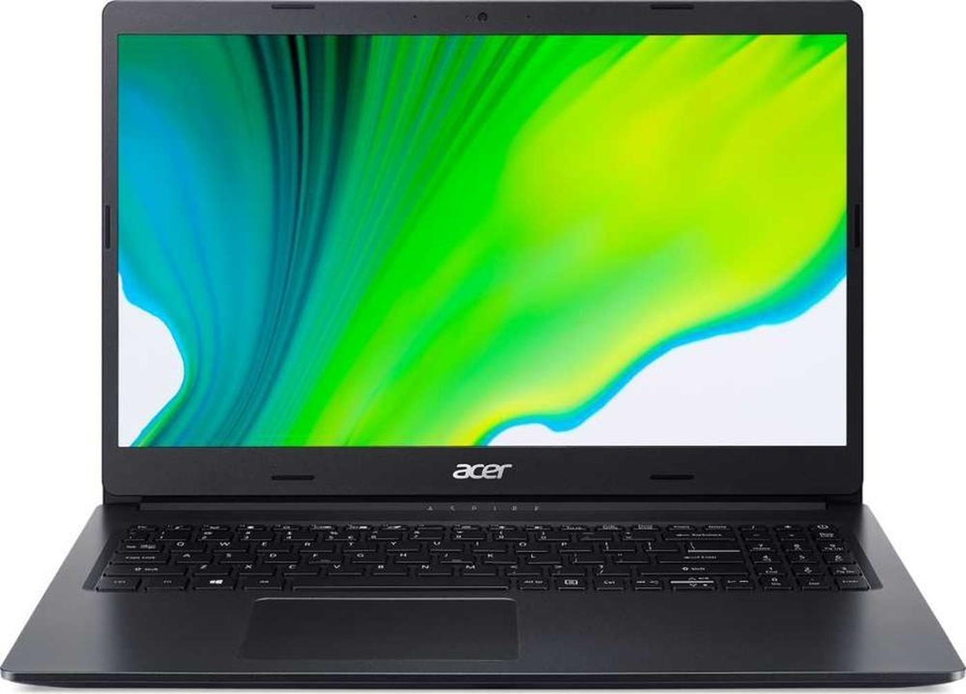 "15.6"" ноутбук acer, intel pentium silver n5030 (1.1 ггц), ram 8 гб, ssd 256 гб, intel hd graphics, windows 10 home, (nx.he3er.00x)"