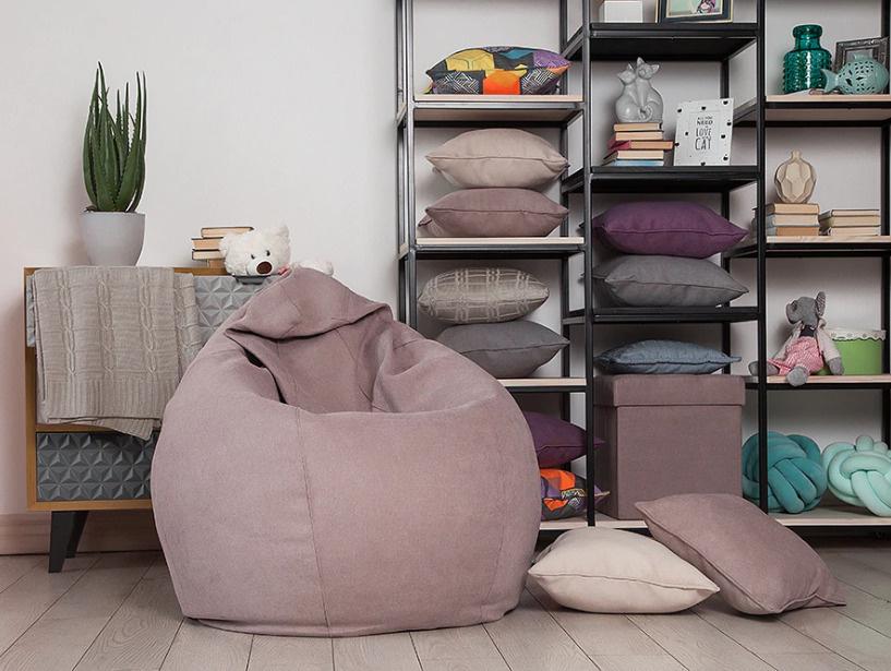 Кресло-мешок Delicatex Груша, Текстиль, Размер L #1
