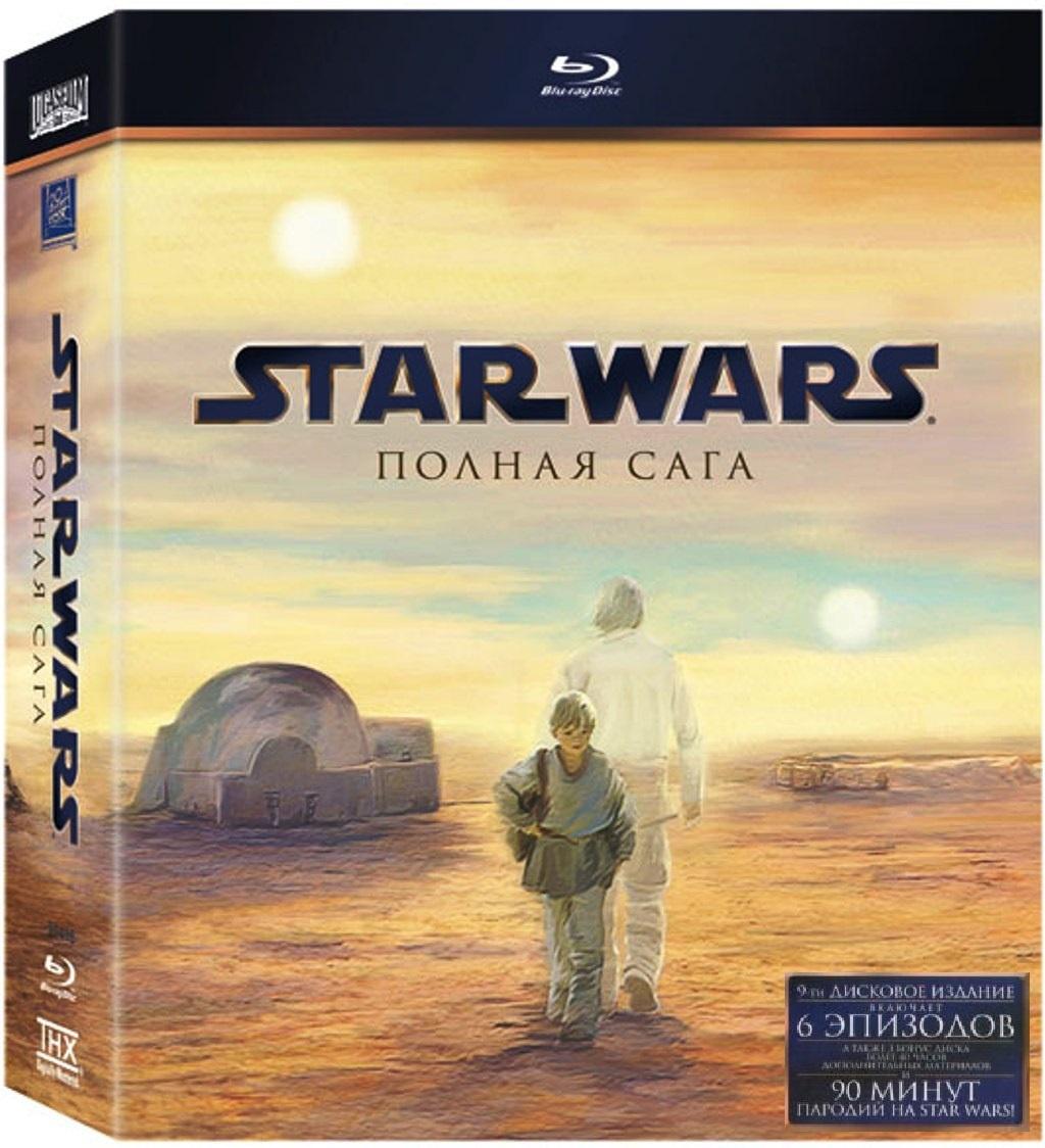 Звёздные войны. Полная сага + доп. материалы 9 Blu-ray #1