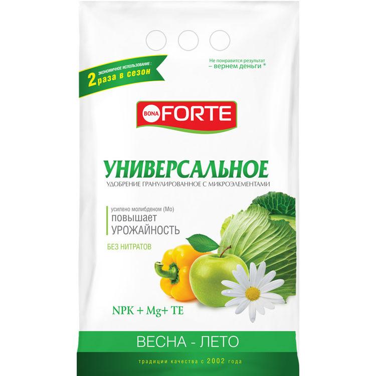 Удобрение Bona Forte Универсальное с микроэлементами ВЕСНА-ЛЕТО, 1 кг  #1