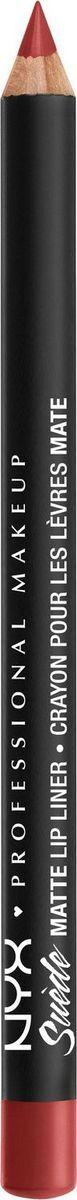 NYX Professional Makeup Suede Matte Lip Liner Карандаш для губ, оттенок 11, Kitten Heels, 1 г  #1