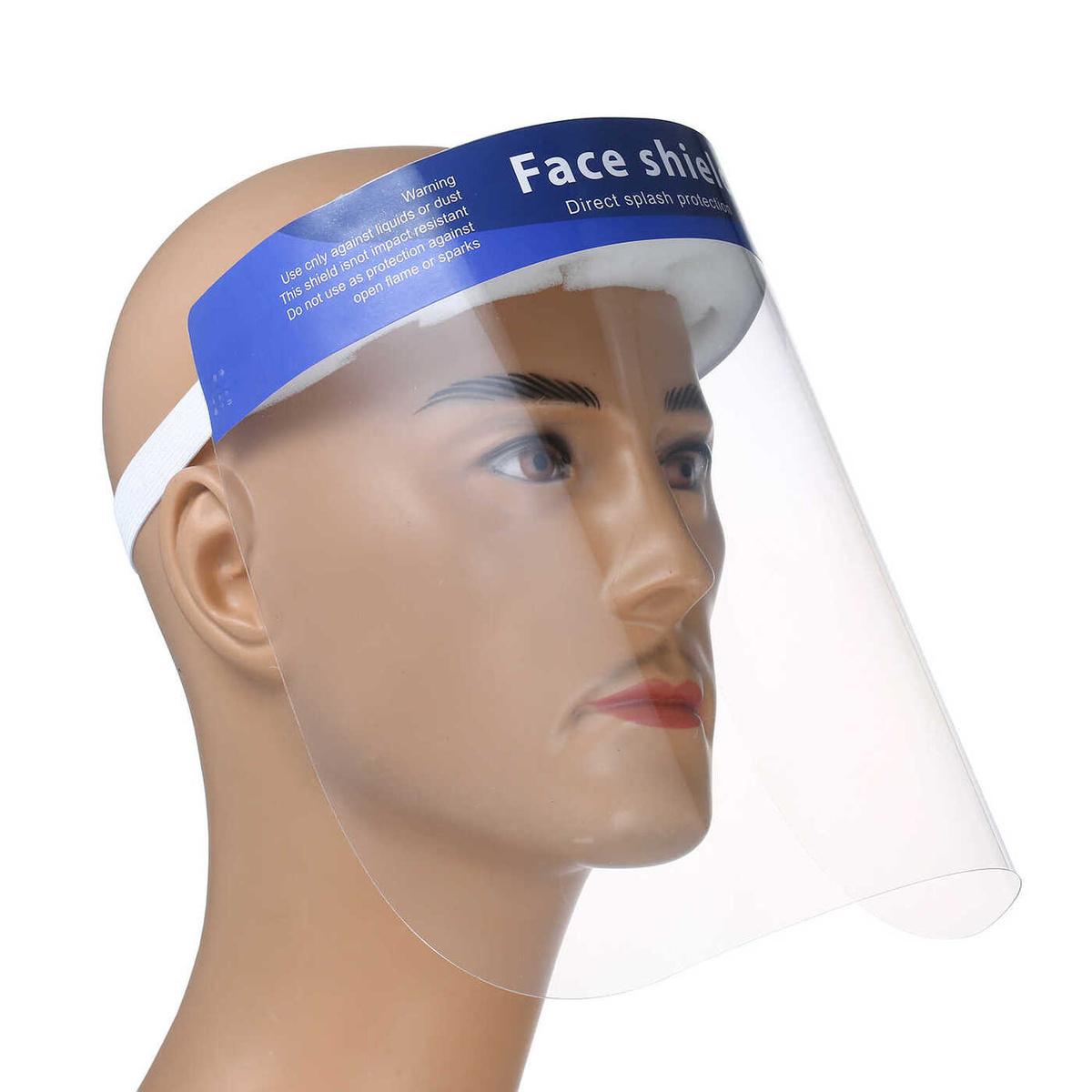 Tewson Маска-экран защитная для лица прозрачная, 3 шт #1