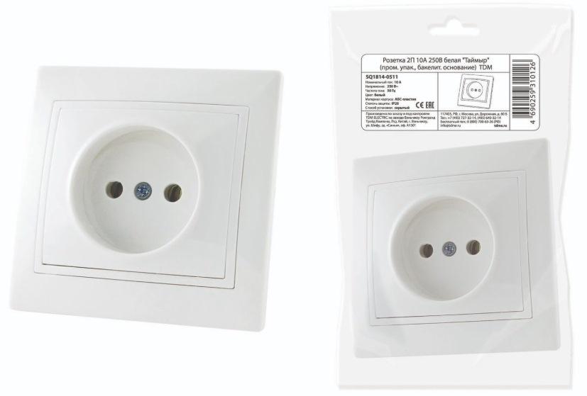 Розетка TDM Electric Таймыр (SQ1814-0511) #1