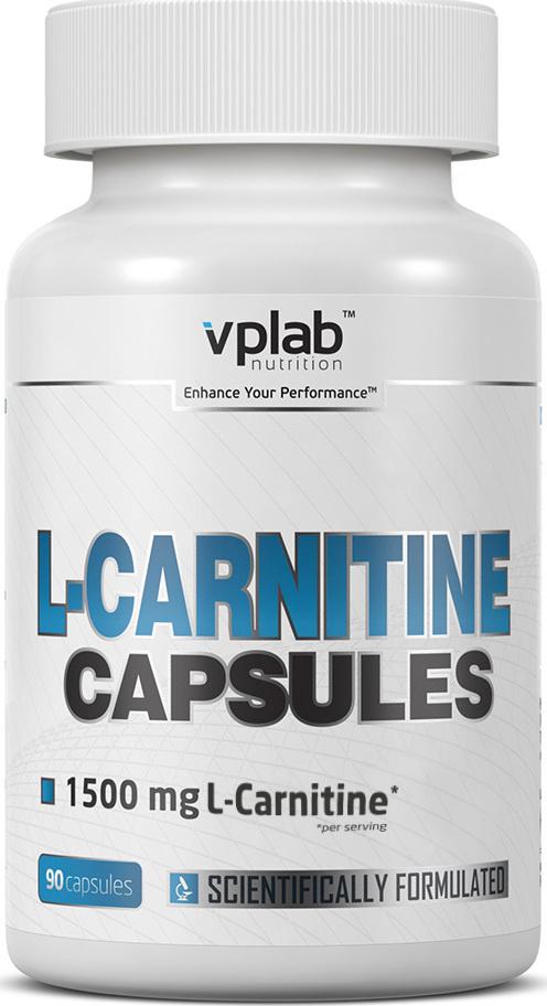 Карнитин (L-карнитин) VPLab L-Carnitine Capsules 90 капсул #1