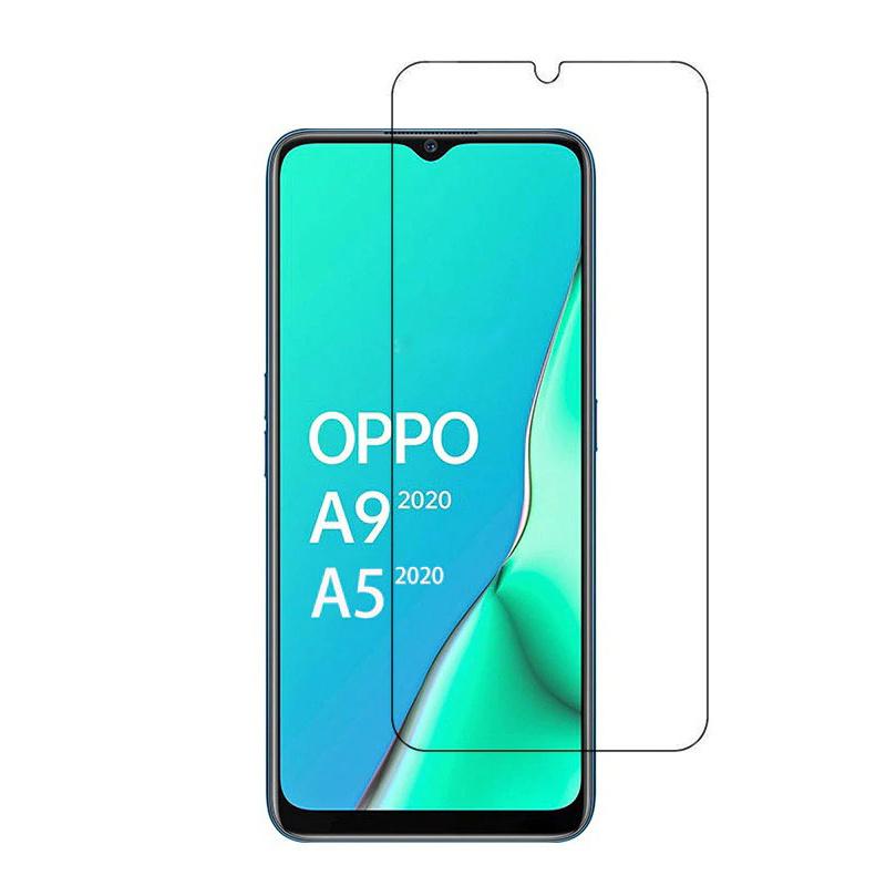 Защитное противоударное стекло MyPads на Oppo A9 (2020) с олеофобным покрытием (только на плоскую поверхность #1