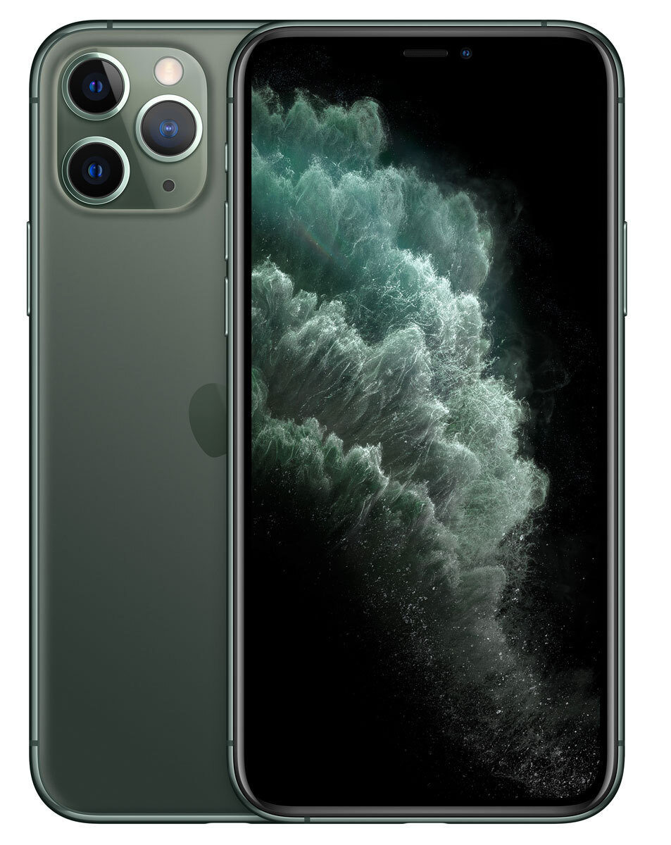 Смартфон Apple iPhone 11 Pro 64GB, темно-зеленый #1
