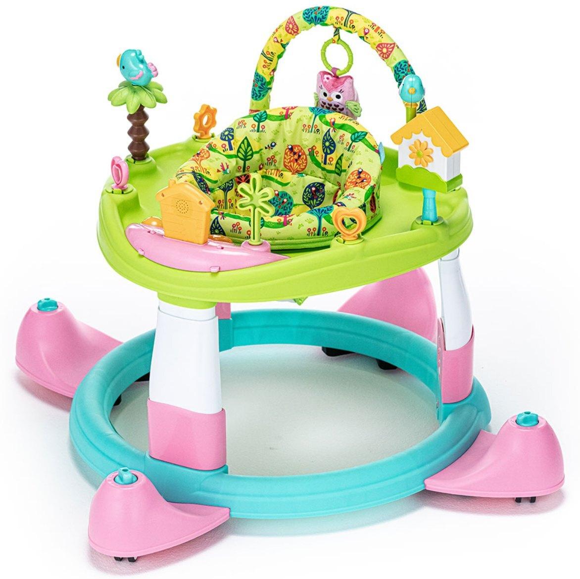 Детские ходунки Nuovita Gioco (Verde rosa/Зелено-розовый) #1