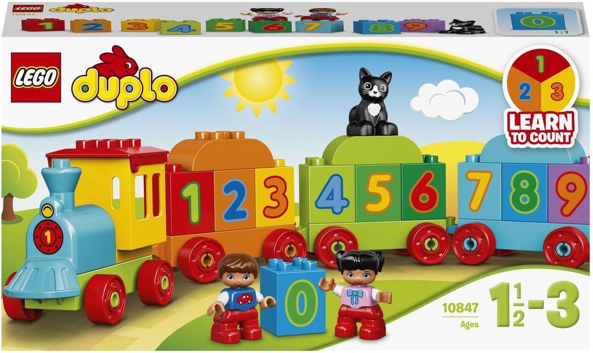 """Конструктор LEGO DUPLO Creative Play 10847 Поезд """"Считай и играй"""" #1"""