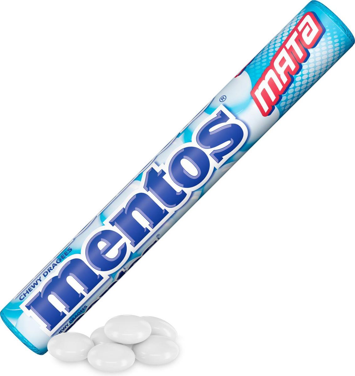 Жевательные драже Mentos This or That со вкусом мяты, 37 г #1