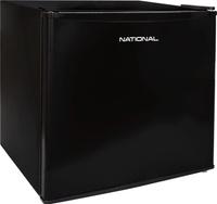 Холодильник NATIONAL мини, 53 литра, с морозильной камерой, черный