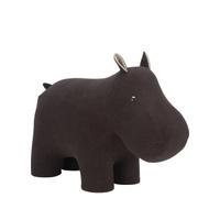 Пуф-животное Hippo, Велюр натуральный, 90х40х65 см. Хиты продаж
