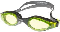 Очки для плавания Joss Swim Goggles, взрослые, цвет: темно-серый. Размер универсальный